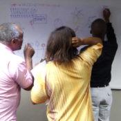 Diakonia Staff Visual Mapping Workshop