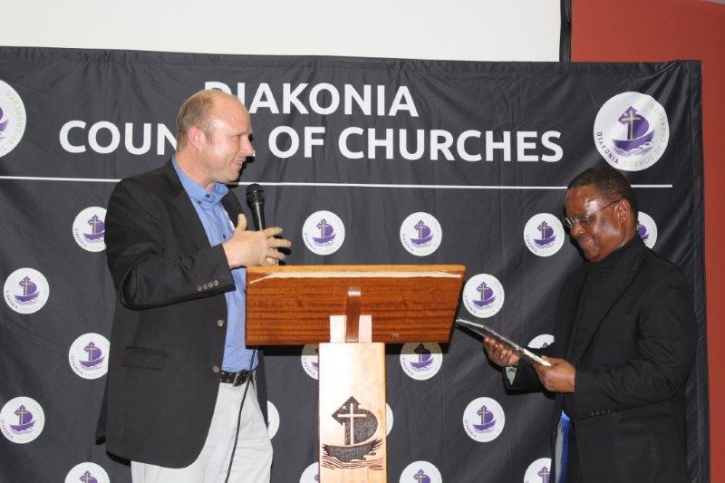 CONVERSATIONS@DIAKONIA WITH REVD DR FRANK CHIKANE